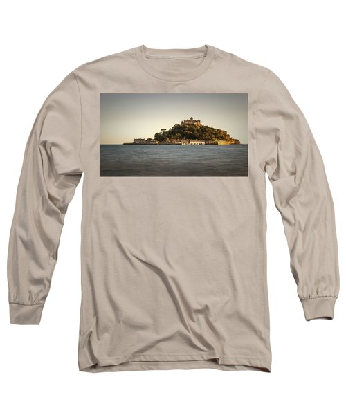 Golden Hour At St Michael's Mount Long Sleeve T-Shirt