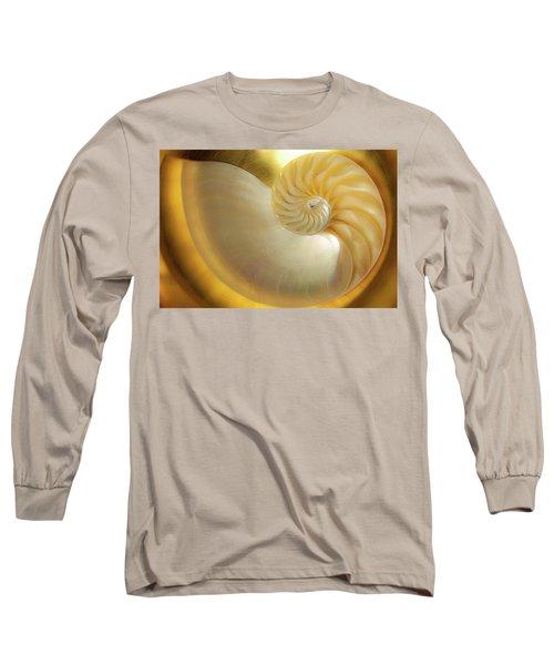 Golden_nautilus_0692 Long Sleeve T-Shirt