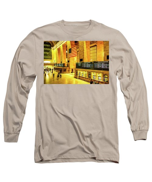 Grand Central Station Long Sleeve T-Shirt