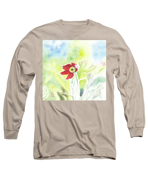 Granny Flower 3 Long Sleeve T-Shirt