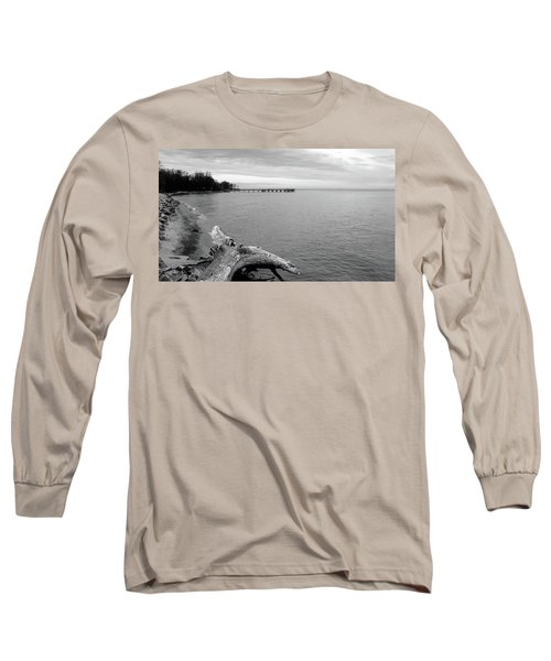 Gray Day On The Bay Long Sleeve T-Shirt