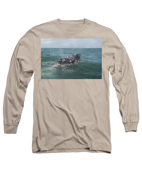Gray Whale In Bahia Magdalena Long Sleeve T-Shirt