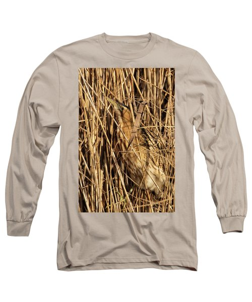 Great Bittern Long Sleeve T-Shirt