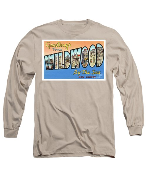 Wildwood Greetings - Version 4 Long Sleeve T-Shirt