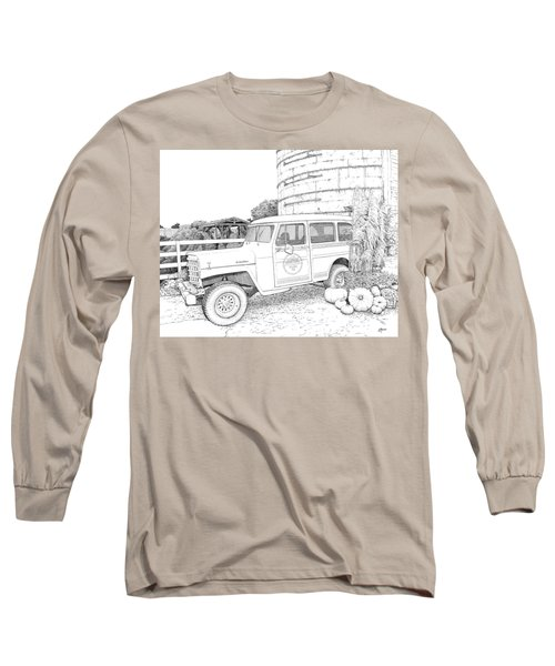 Harvest At Magnolia - Ink Long Sleeve T-Shirt