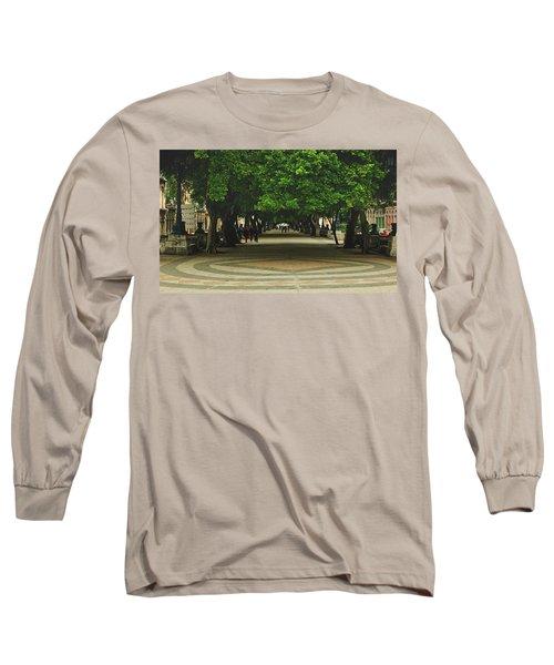 Havana's Prado Promenade  Long Sleeve T-Shirt