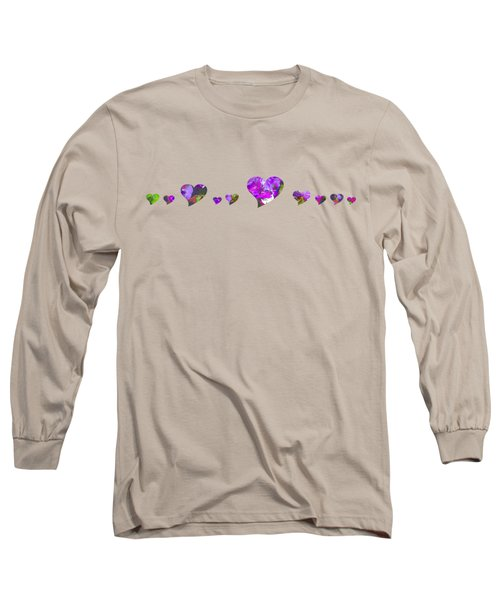 Hearts 1001 Long Sleeve T-Shirt