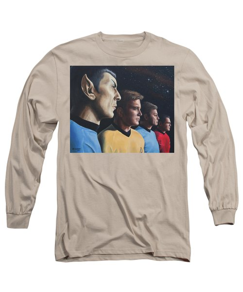 Heroes Of The Final Frontier Long Sleeve T-Shirt