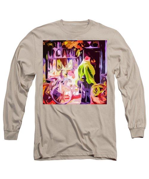 Hertford Flower Shop Long Sleeve T-Shirt