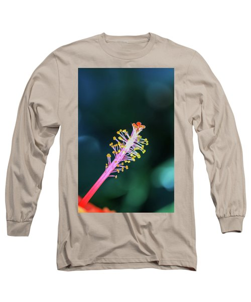 Hibiscus' Pistil Long Sleeve T-Shirt