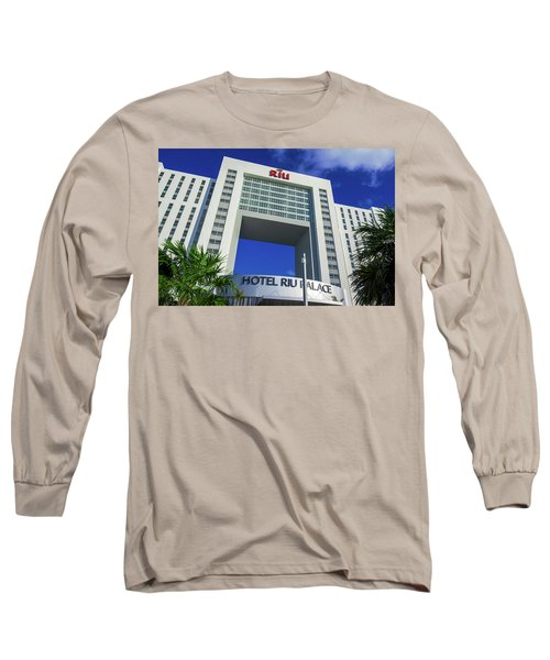 Hotel Riu Palace In Cancun Long Sleeve T-Shirt