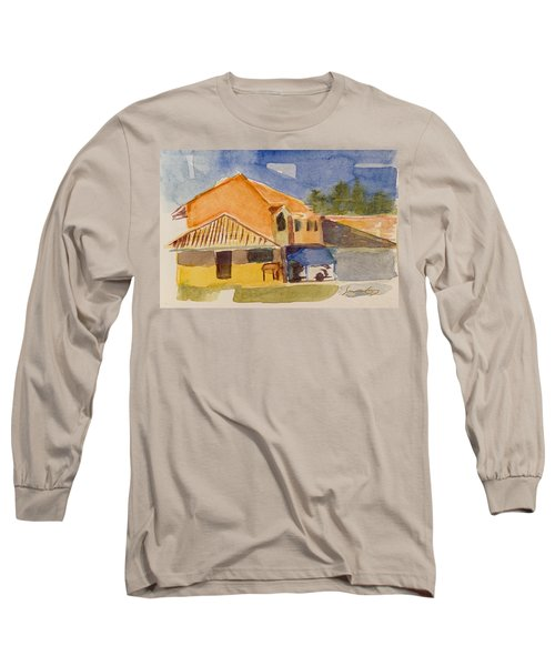 House Across The Way Long Sleeve T-Shirt