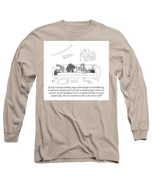 How To Feel Long Sleeve T-Shirt