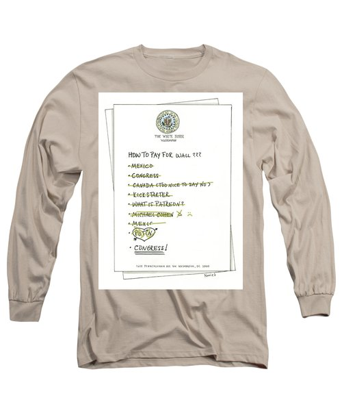 How To Pay For Wall  Long Sleeve T-Shirt