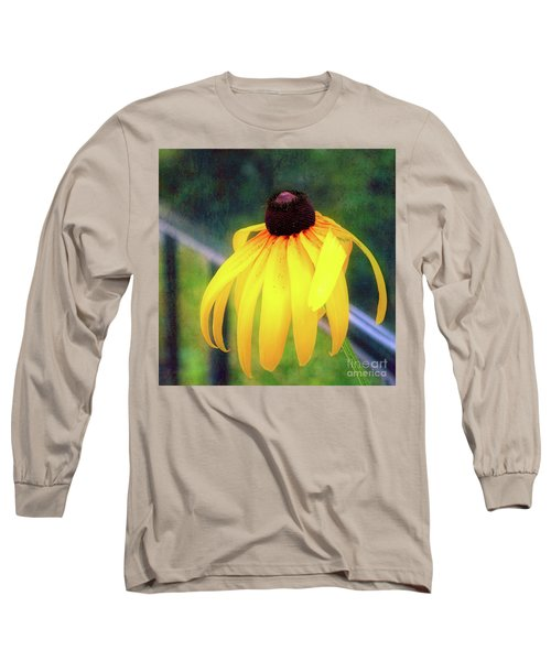 Can-do Cassie Climbing Over The Railing Long Sleeve T-Shirt
