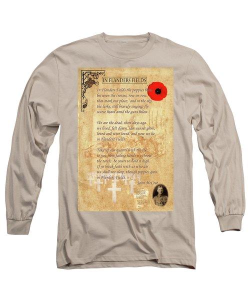 In Flanders Fields Long Sleeve T-Shirt