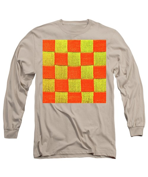 Interlaced Canvas Straps 1 Long Sleeve T-Shirt