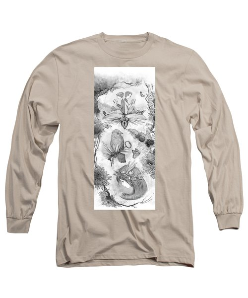 Into An Open Book Long Sleeve T-Shirt