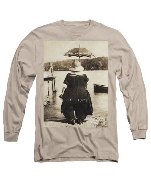 It Floats - Version 1 Long Sleeve T-Shirt