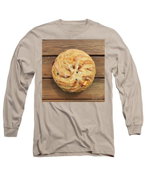 Jalapeno Cheddar Sourdough Long Sleeve T-Shirt