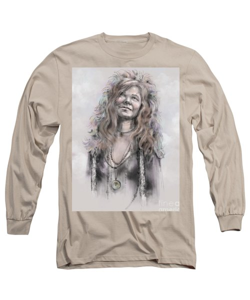 Janis Joplin Long Sleeve T-Shirt