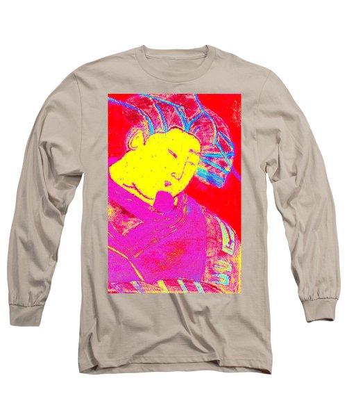 Japanese Pop Art Print 9 Long Sleeve T-Shirt