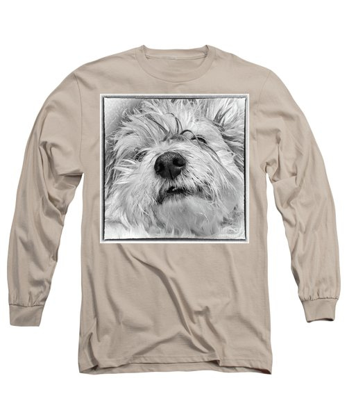 Coton De Tulear Dog Long Sleeve T-Shirt