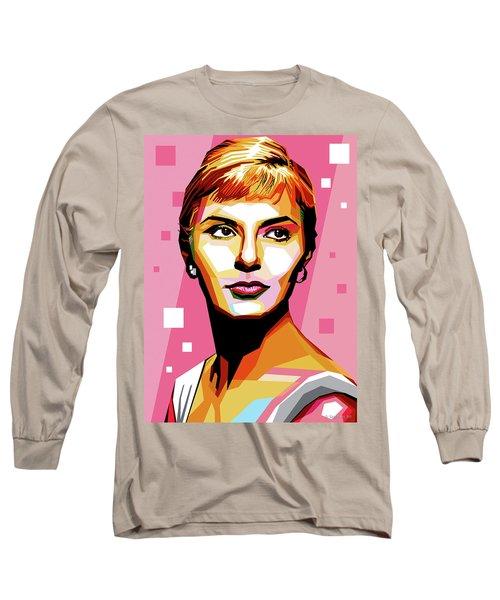 Joanne Woodward Long Sleeve T-Shirt