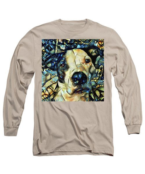Joshua The Staffordshire Terrier Great Dane Cross Long Sleeve T-Shirt