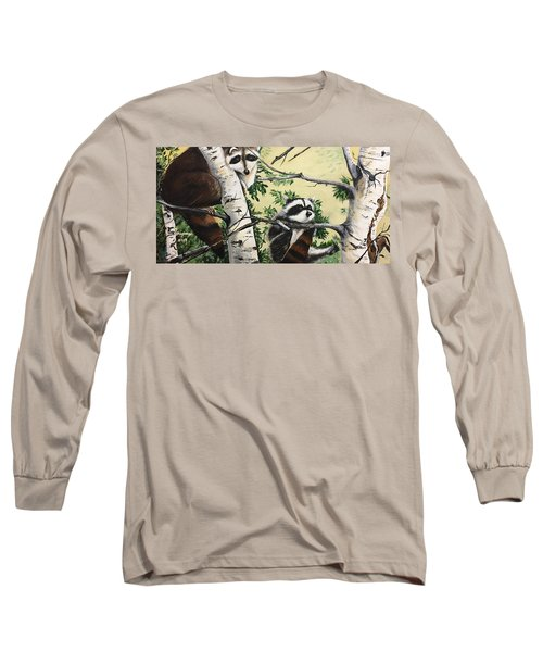 Just Hanging In There  Long Sleeve T-Shirt