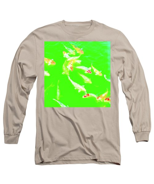 Koicarpscape 4 Long Sleeve T-Shirt