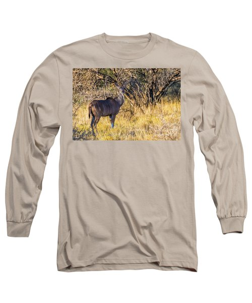 Kudu, Namibia Long Sleeve T-Shirt