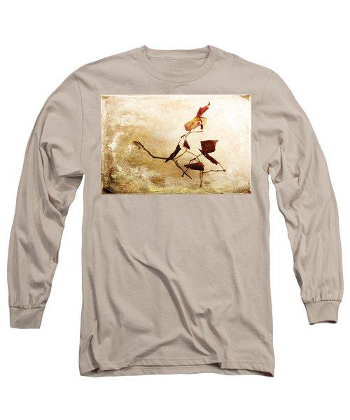 Long Sleeve T-Shirt featuring the photograph Last Movement by Randi Grace Nilsberg