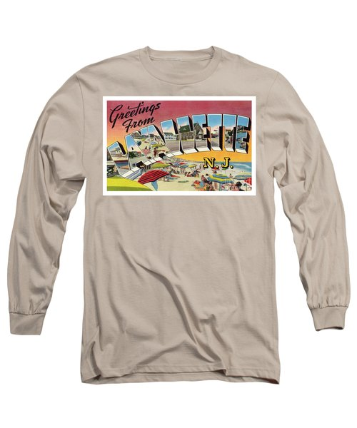 Lavallette Greetings Long Sleeve T-Shirt