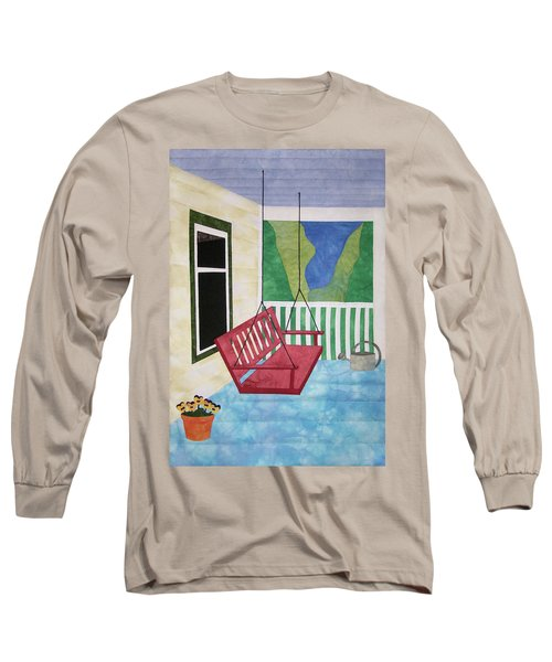 Lazy Summer Afternoon Long Sleeve T-Shirt