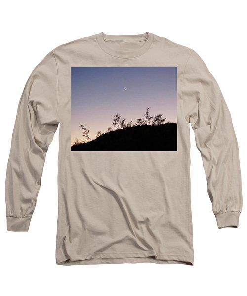 Libra Twilight Crescent Long Sleeve T-Shirt