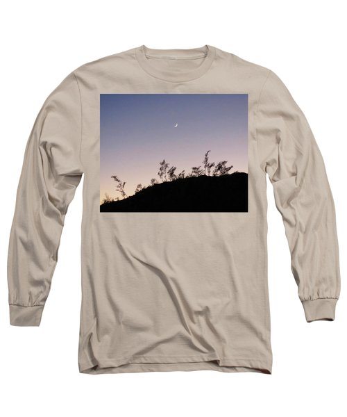 Libra Twilight Crescent Long Sleeve T-Shirt