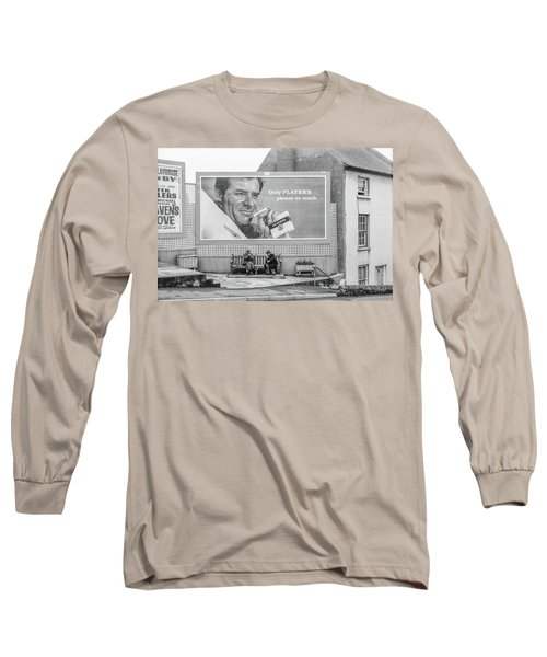 Lighting Up For A Quick Smoke Long Sleeve T-Shirt