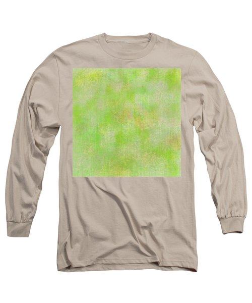 Lime Batik Print Long Sleeve T-Shirt