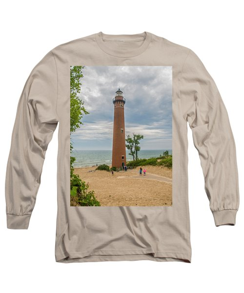 Little Sable Point Lighthouse Long Sleeve T-Shirt