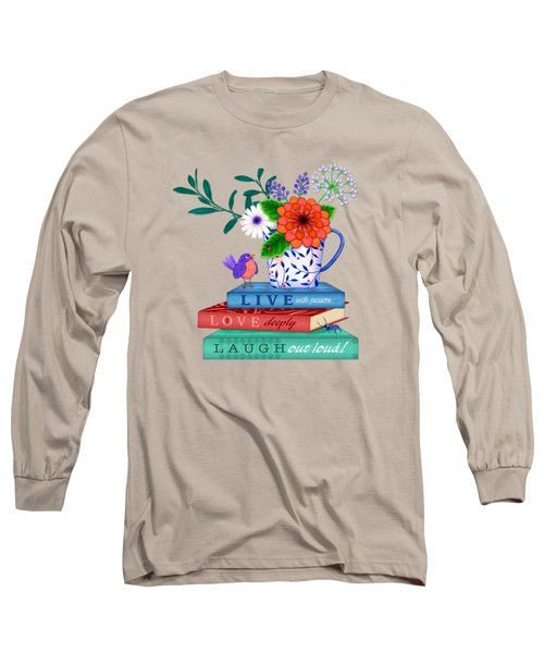 Live Laugh Love Long Sleeve T-Shirt