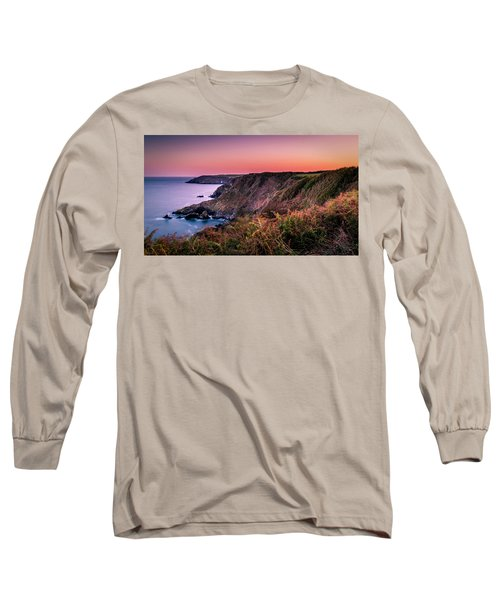 Lizard Point Sunset - Cornwall Long Sleeve T-Shirt