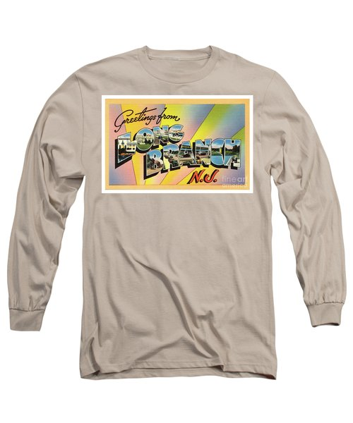 Long Branch Greetings Long Sleeve T-Shirt