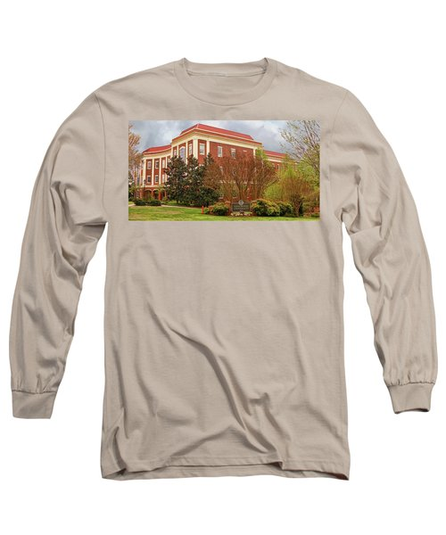 Chichester Hall At Longwood University Farmville Virginia Long Sleeve T-Shirt