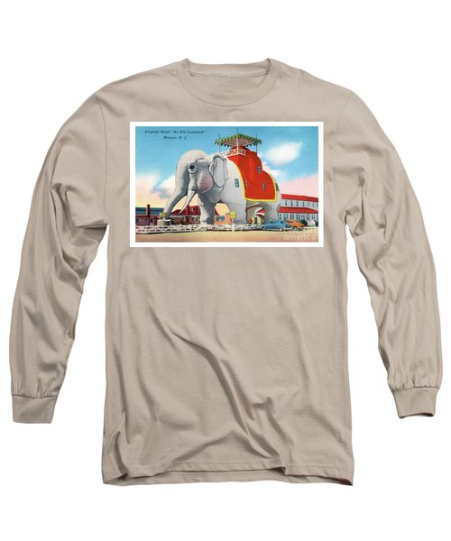 Lucy The Elephant Long Sleeve T-Shirt