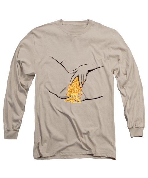 Mac N Cheese Long Sleeve T-Shirt