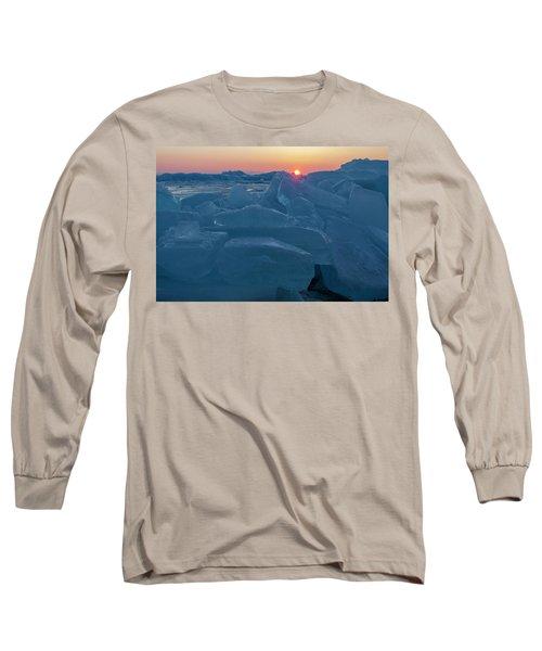 Mackinaw City Ice Formations 21618013 Long Sleeve T-Shirt