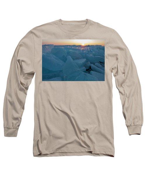 Mackinaw City Ice Formations 21618014 Long Sleeve T-Shirt
