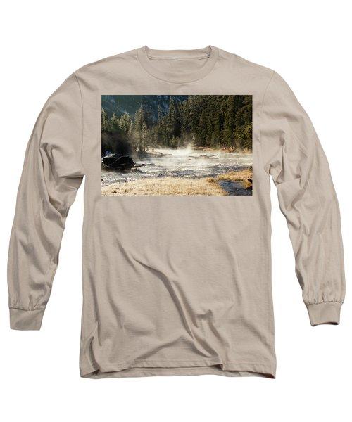 Madison River Morning Long Sleeve T-Shirt