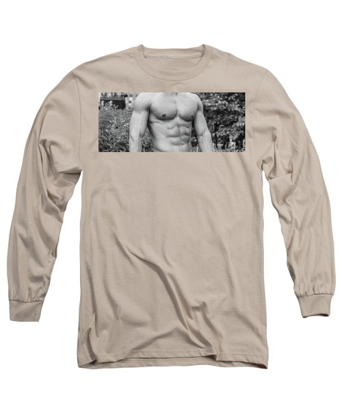 Male Torso 2 Long Sleeve T-Shirt